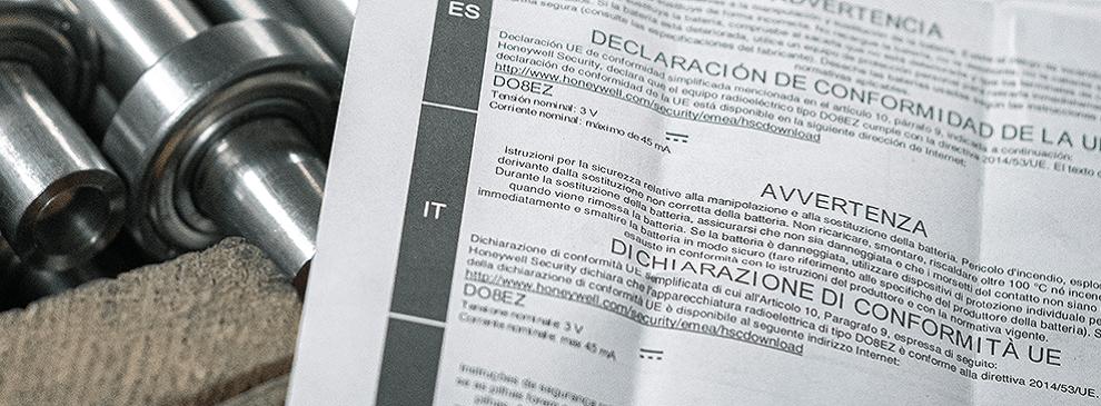 druk instrukcje obsługi - przykład realizacj